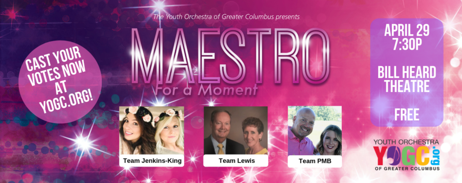 Youth Orchestra of Greater Columbus-Maestro for a Moment