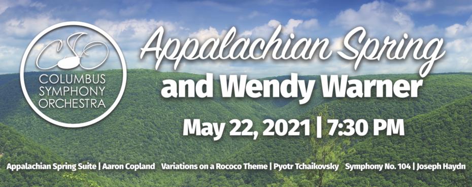 CSO: Appalachian Spring & Wendy Warner