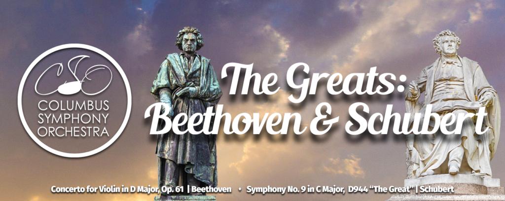 CSO: The Greats: Beethoven & Schubert